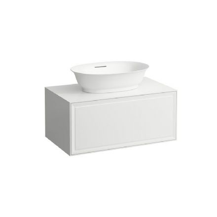 812853 - Laufen The New Classic 550mm x 380mm Bowl Washbasin & 775mm Vanity Unit - 8.1385.8